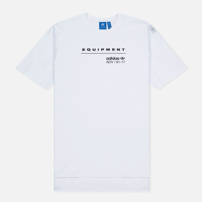 Мужская футболка adidas Originals EQT Logo White