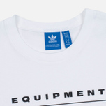 Мужская футболка adidas Originals EQT Logo White фото- 1