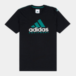 Мужская футболка adidas Originals EQT Logo Black фото- 0
