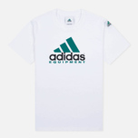adidas Originals Equipment Men's T-Shirt White/Green/Black photo- 0