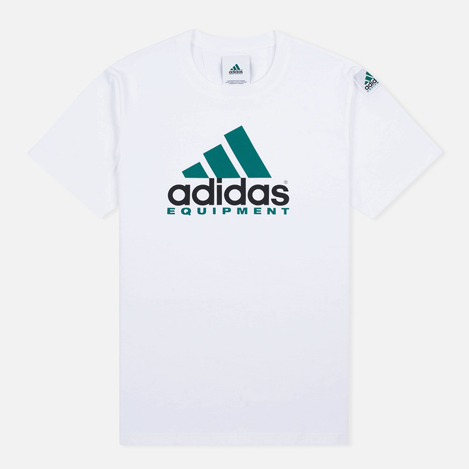 Мужская футболка adidas Originals Equipment White/Green/Black