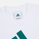 adidas Originals Equipment Men's T-Shirt White/Green/Black photo- 1