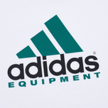 adidas Originals Equipment Men's T-Shirt White/Green/Black photo- 3