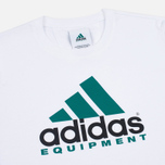 adidas Originals Equipment Men's T-Shirt White/Green/Black photo- 2