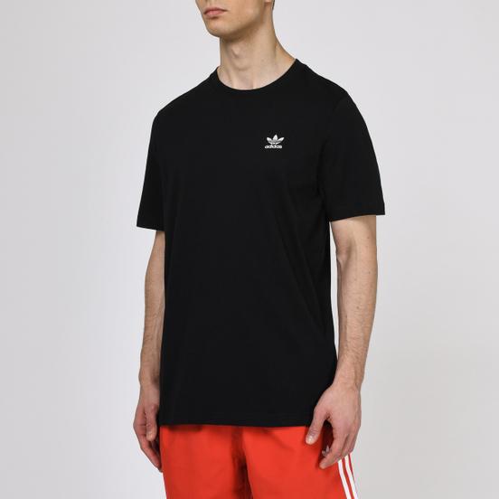 Мужская футболка adidas Originals Essential Embroidered Logo Black