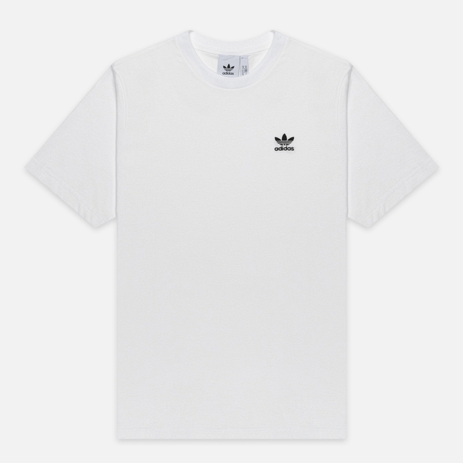 Мужская футболка adidas Originals Essential Embroidered Logo White