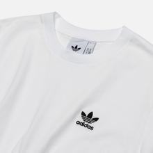 Мужская футболка adidas Originals Essential Embroidered Logo White фото- 1