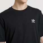 Мужская футболка adidas Originals Essential Small Logo Black фото- 2