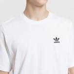 Мужская футболка adidas Originals Essential Small Logo White фото- 2