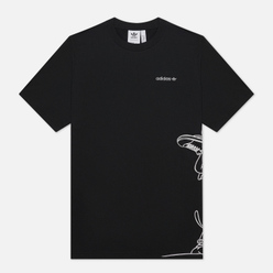 Мужская футболка adidas Originals Goofy Black/White