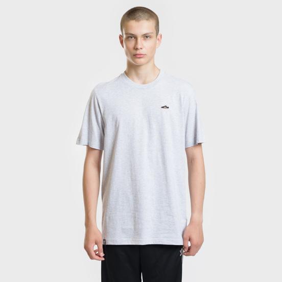Мужская футболка adidas Originals Mini Embroidered Samba Light Grey Heather