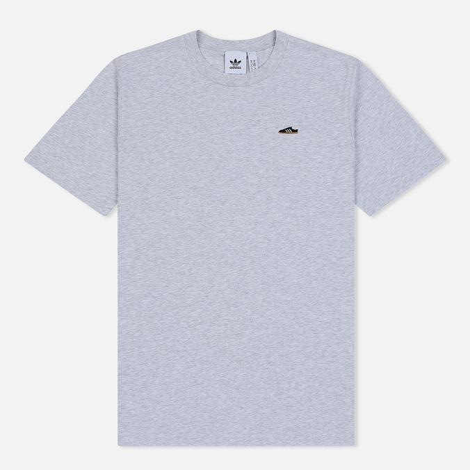 Мужская футболка adidas Originals Mini Embroidered Stan Smith Light Grey Heather