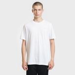 Мужская футболка adidas Originals Mini Embroidered Stan Smith White фото- 1