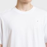 Мужская футболка adidas Originals Mini Embroidered Stan Smith White фото- 2