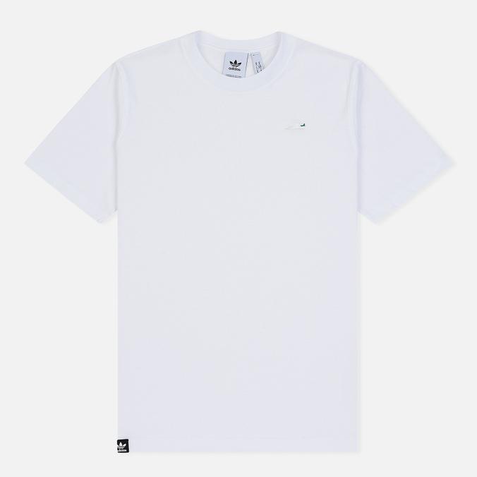 Мужская футболка adidas Originals Mini Embroidered Stan Smith White