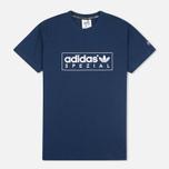 Мужская футболка adidas Originals Spezial Box Logo Navy фото- 0