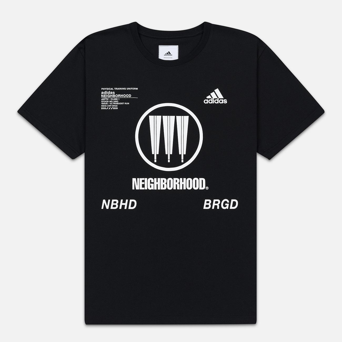 Мужская футболка adidas Performance x Neighborhood Graphic Black