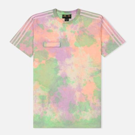 Мужская футболка adidas Originals x Pharrell Williams Human Race Holi Multicolor/White
