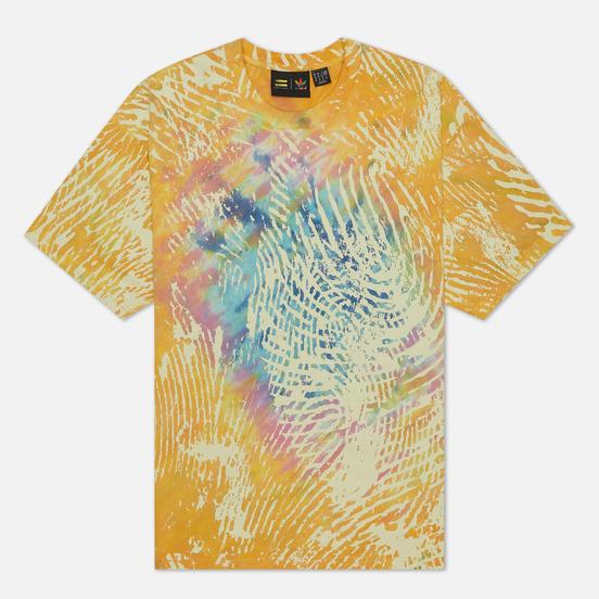 Мужская футболка adidas Originals x Pharrell Williams March Madness Fan Multicolor