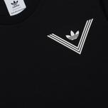 Мужская футболка adidas Originals x White Mountaineering 1 Point Black фото- 2