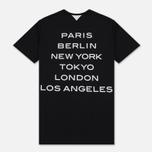 Мужская футболка adidas Originals x White Mountaineering 1 Point Black фото- 4