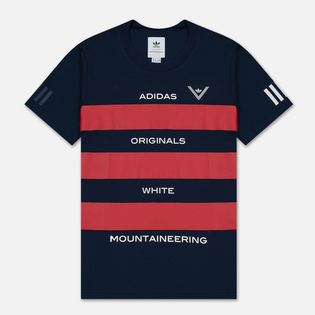 Мужская футболка adidas Originals x White Mountaineering AOWM Collegiate Navy