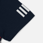 Мужская футболка adidas Originals x White Mountaineering AOWM Collegiate Navy фото- 4