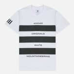 Мужская футболка adidas Originals x White Mountaineering AOWM White фото- 0