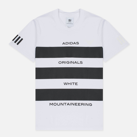 Мужская футболка adidas Originals x White Mountaineering AOWM White