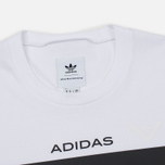 Мужская футболка adidas Originals x White Mountaineering AOWM White фото- 1