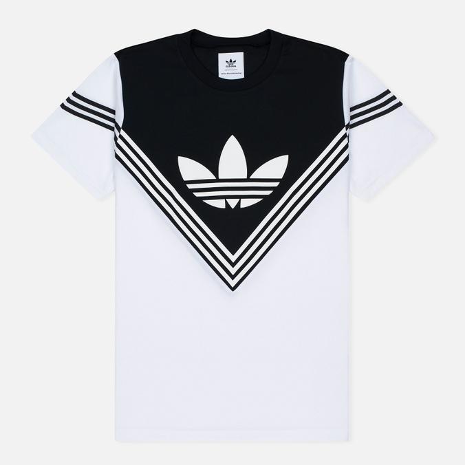 Мужская футболка adidas Originals x White Mountaineering Football White