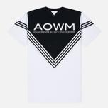 Мужская футболка adidas Originals x White Mountaineering Football White фото- 3