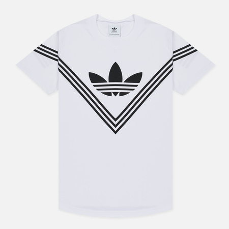 Мужская футболка adidas Originals x White Mountaineering Logo White