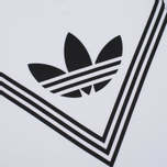 Мужская футболка adidas Originals x White Mountaineering Logo White фото- 2
