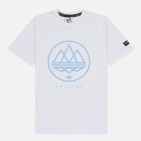 Мужская футболка adidas Spezial Mod Trefoil White