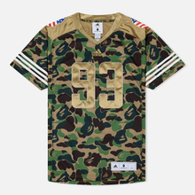 Мужская футболка adidas x Bape Superbowl Jersey Multicolor фото- 0
