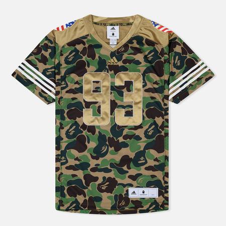 Мужская футболка adidas x Bape Superbowl Jersey Multicolor