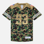 Мужская футболка adidas x Bape Superbowl Jersey Multicolor фото - 0