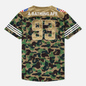 Мужская футболка adidas x Bape Superbowl Jersey Multicolor фото - 1
