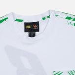 Мужская футболка adidas Consortium x Pharrell Williams BBC Palm Tree Tee White/Green фото- 1