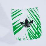 Мужская футболка adidas Consortium x Pharrell Williams BBC Palm Tree Tee White/Green фото- 2
