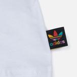Мужская футболка adidas Consortium x Pharrell Williams BBC Palm Tree Tee White/Green фото- 4