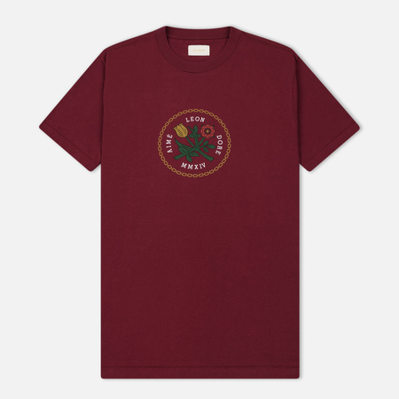 Мужская футболка Aime Leon Dore Graphic Burgundy