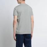 Мужская футболка Albam Code Logo Grey фото- 4