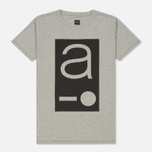 Мужская футболка Albam Code Logo Grey фото- 0