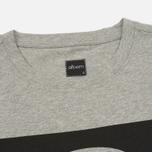 Мужская футболка Albam Code Logo Grey фото- 1