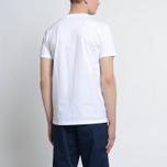 Мужская футболка Albam Code Logo White фото- 4