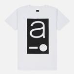 Мужская футболка Albam Code Logo White фото- 0