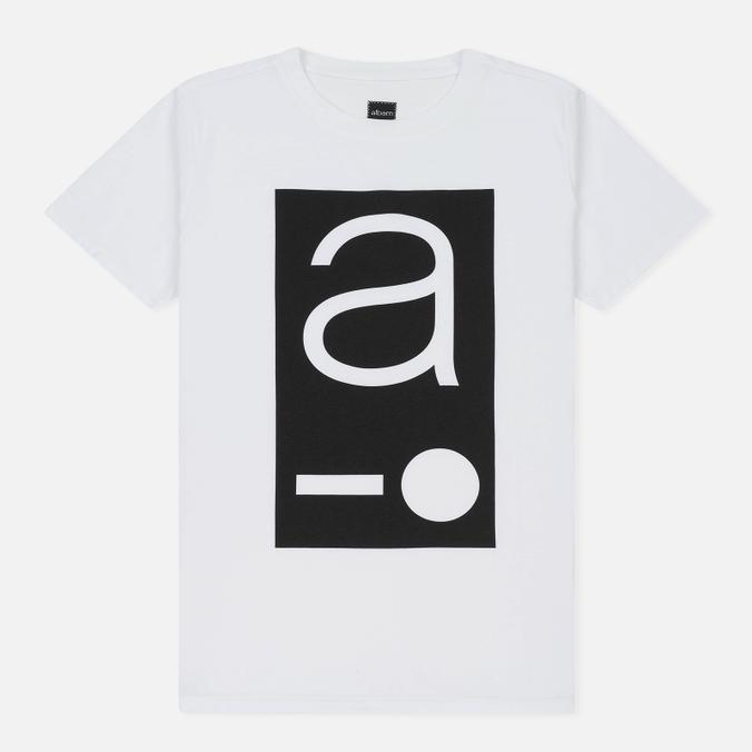 Мужская футболка Albam Code Logo White