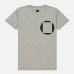 Мужская футболка Albam Factory Logo Grey фото- 0